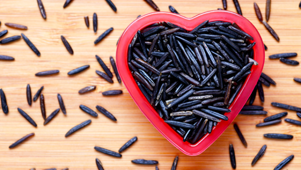 (Wild rice is good for your heart!)